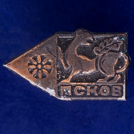 Значок-сувенир Псков