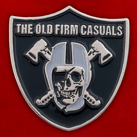 "Значок ""The Old Firm Casuals"""