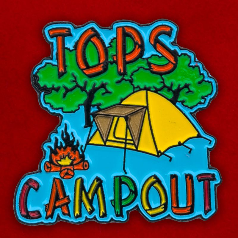 "Значок ""Tops Campout"""