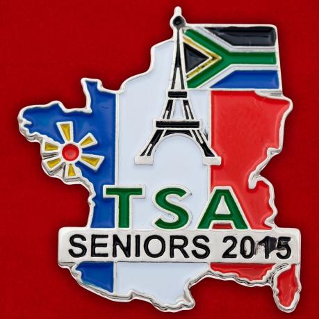 "Значок ""TSA Seniors-2015"""