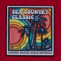 Значок турнира по софтболу среди девочек Sea Country Classic, Калифорния