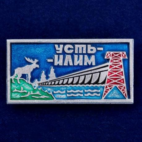 """Значок """"Усть-Илим"""""""