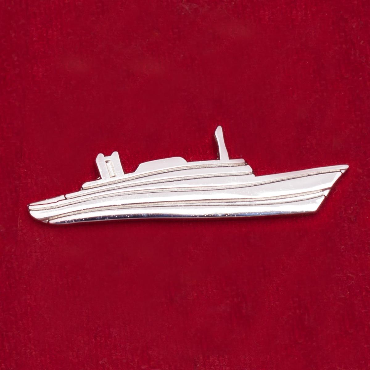 Значок в память о морском круизе