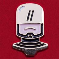 """Значок в винтажном стиле """"Робокоп"""""""