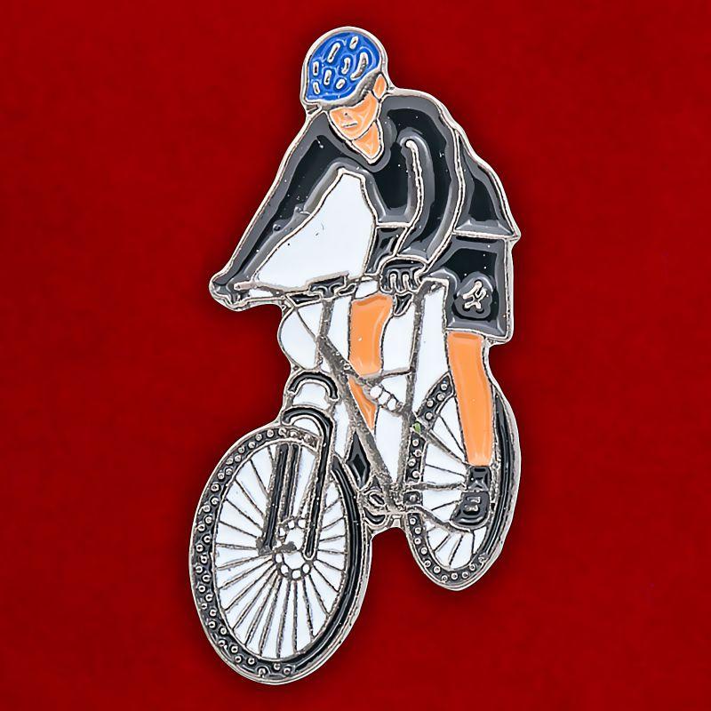 """Значок """"Велосипедист"""""""