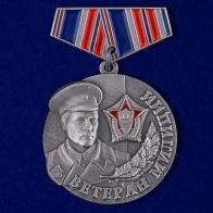 """Миниатюрная копия медали """"Ветеран милиции"""""""