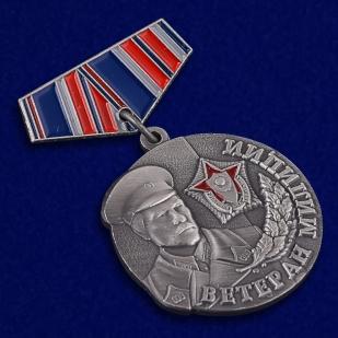 """Значок фрачный """"Ветеран милиции"""" по лучшей цене"""