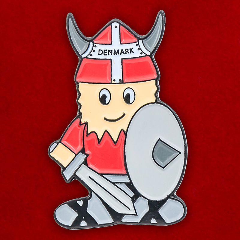 "Значок викинга ""Дания"""