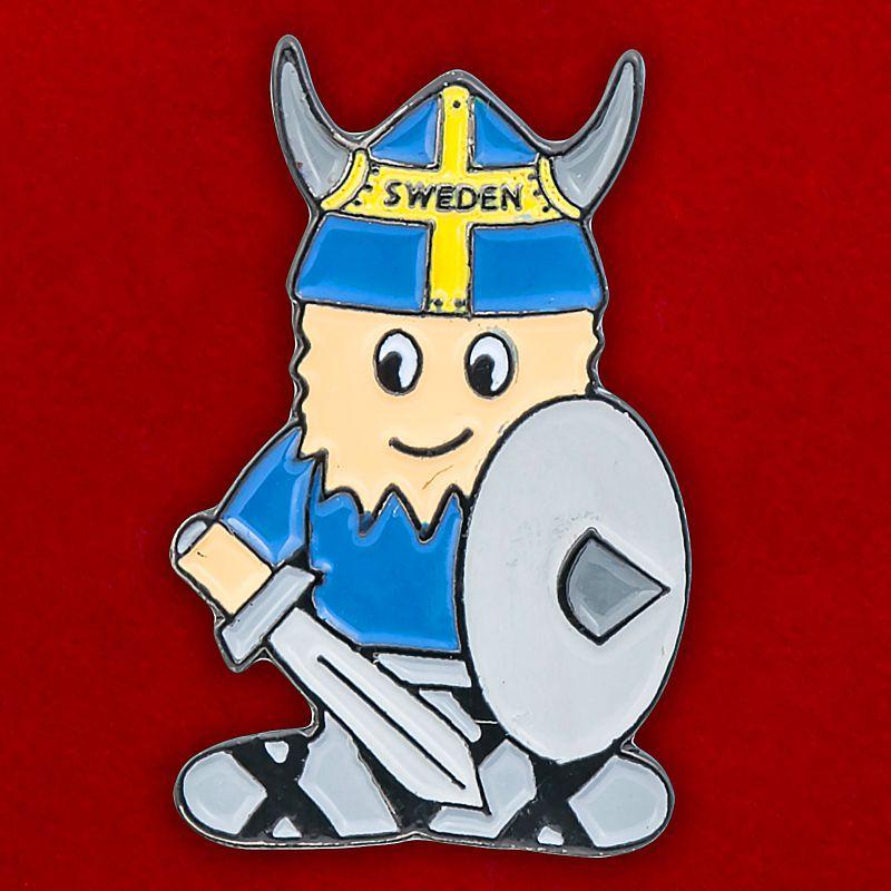 "Значок викинга ""Швеция"""