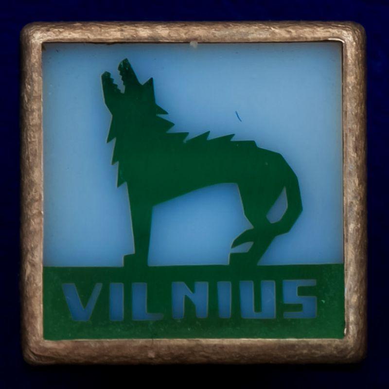 """Значок """"Вильнюс"""""""