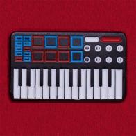"Значок ""Винтажный MIDI-контроллер"""