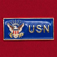Значок ВМС США (синий)