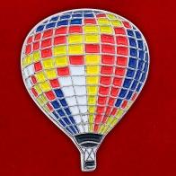 """Значок """"Воздушный шар разноцветный"""""""