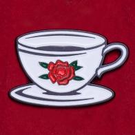 """Значок """"Время для чашечки кофе"""""""