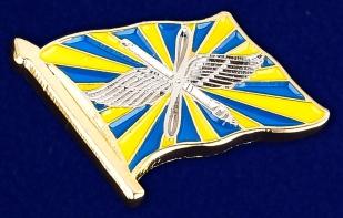 Значок ВВС России - общий вид