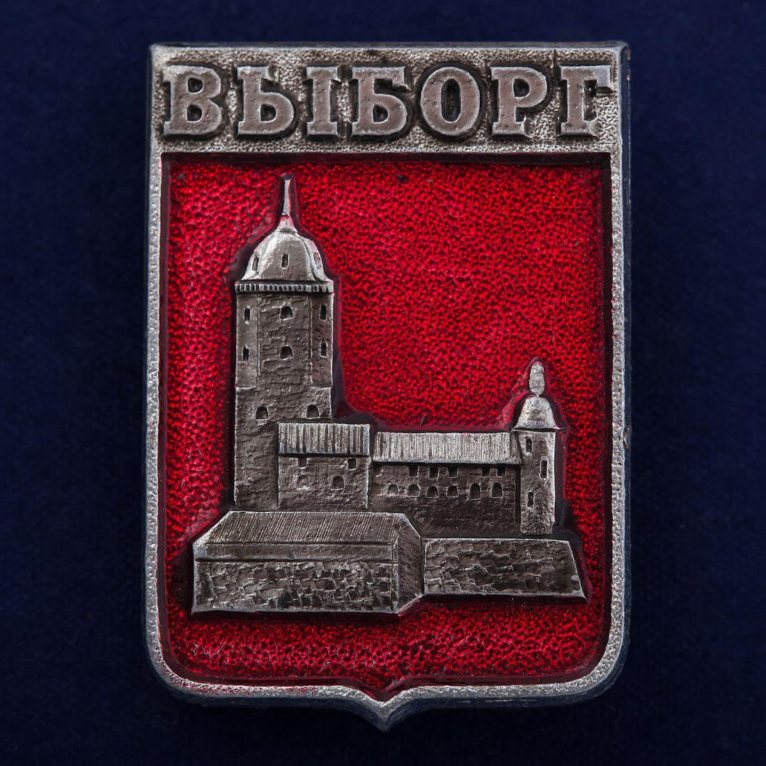 """Значок """"Выборгский замок"""""""