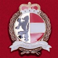 """Значок """"За сохранение народных обычаев"""" (бронза), Австрия"""