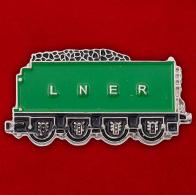 """Значок """"Железная дорога Лондон - Северо-Восток"""""""