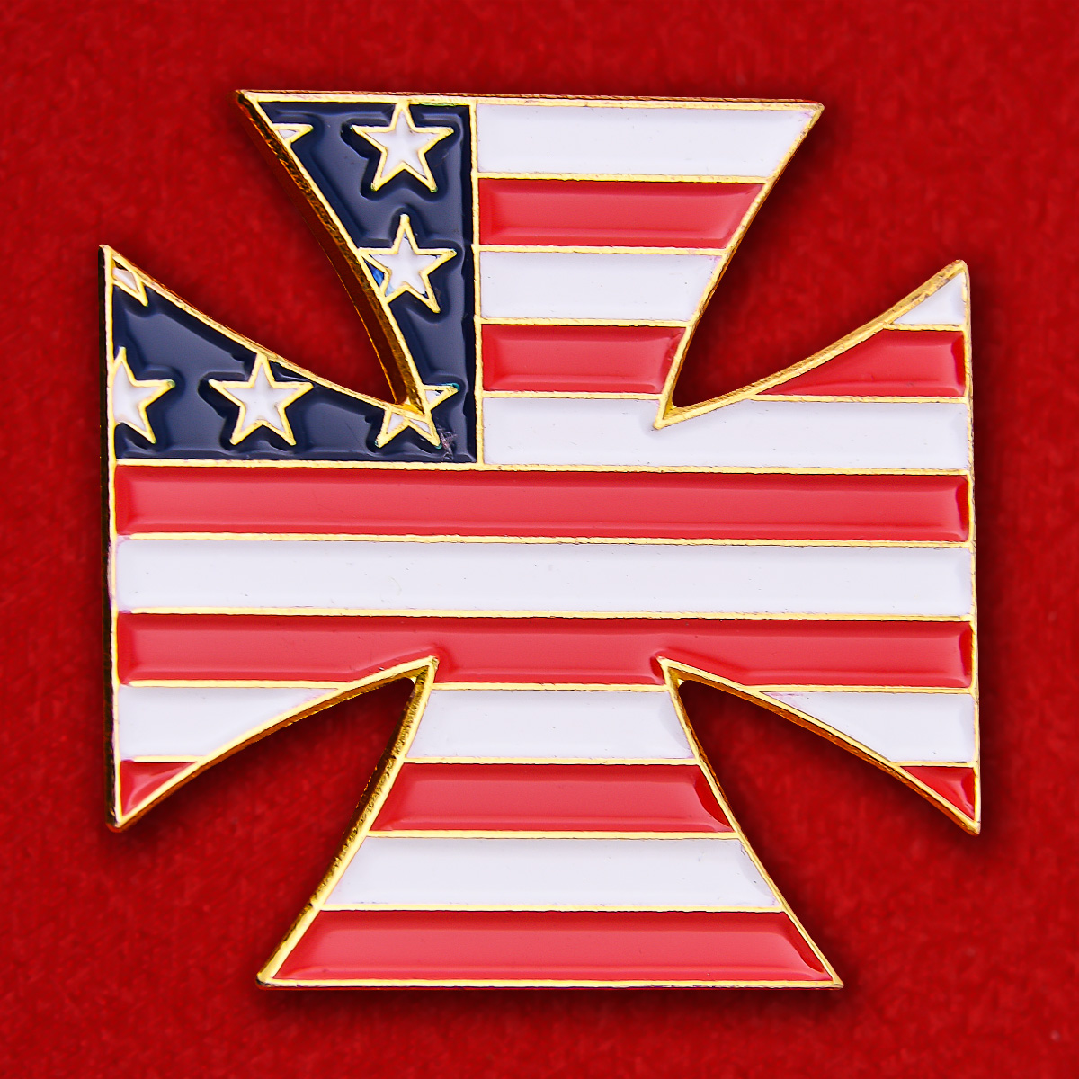 """Значок """"Железный крест США"""""""