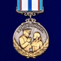 """Мини-копия медали """"Жене офицера"""""""