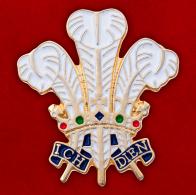 """Значок """"Знак принца Уэльского"""""""