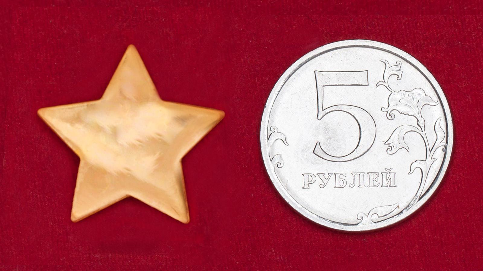 """Значок """"Золотая звездочка"""""""