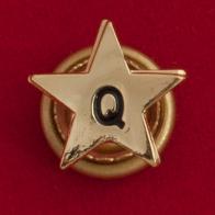 """Значок """"Звезда Q"""""""