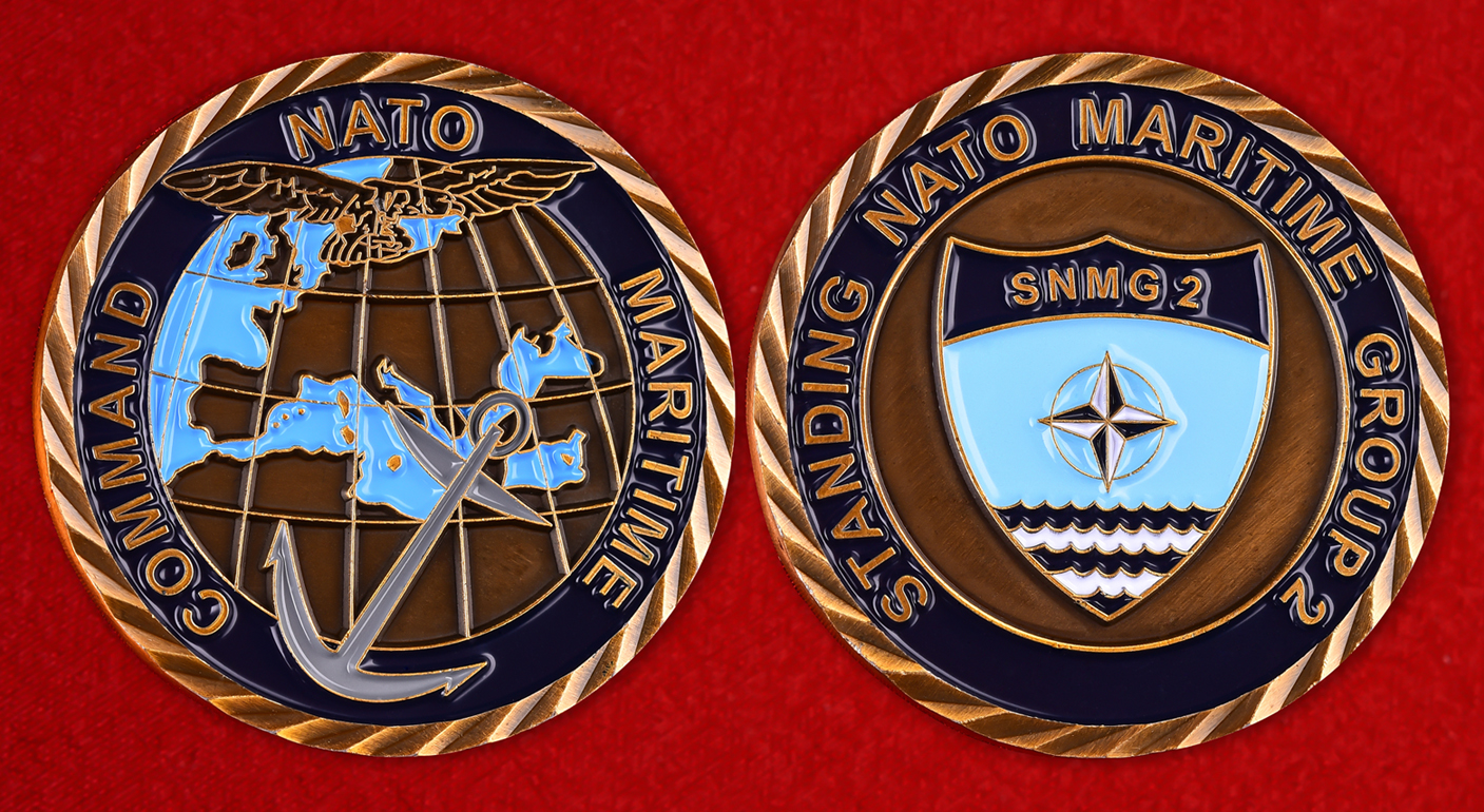 """Знак """"2-я постоянная военно-морская группа НАТО"""""""