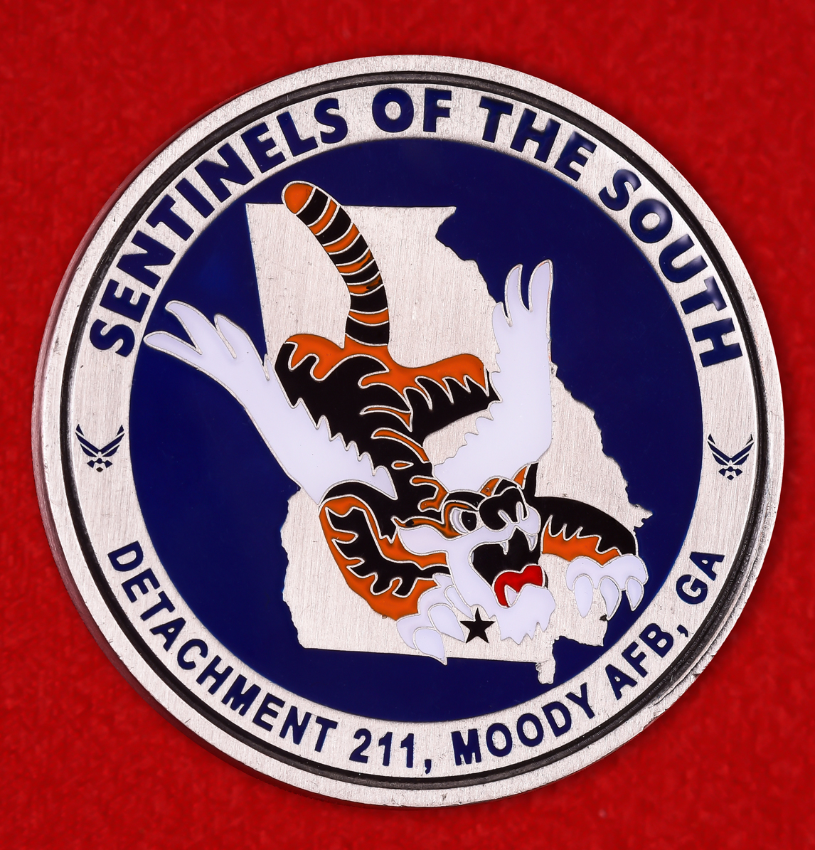 """Знак ВВС США """"211-й отряд Управления специальных расследований"""""""