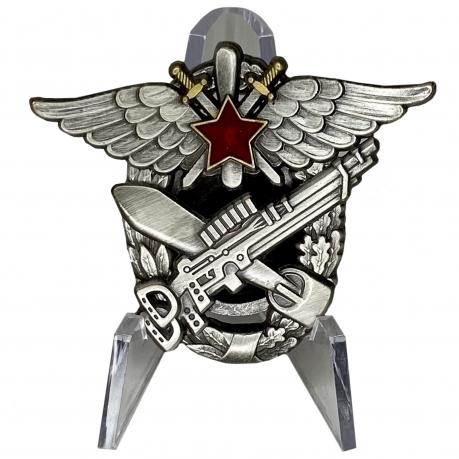 Знак 3-я военная школа летчиков и летнабов на подставке