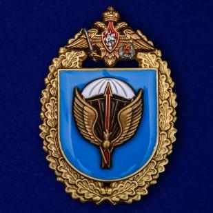 """Купить знак """"31-я отдельная Воздушно-десантная бригада"""" в бархатистом футляре из флока"""