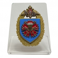 Знак 45 гвардейский ОРПСпН ВДВ на подставке