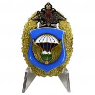 Знак 7-я гвардейская десантно-штурмовая дивизия ВДВ на подставке
