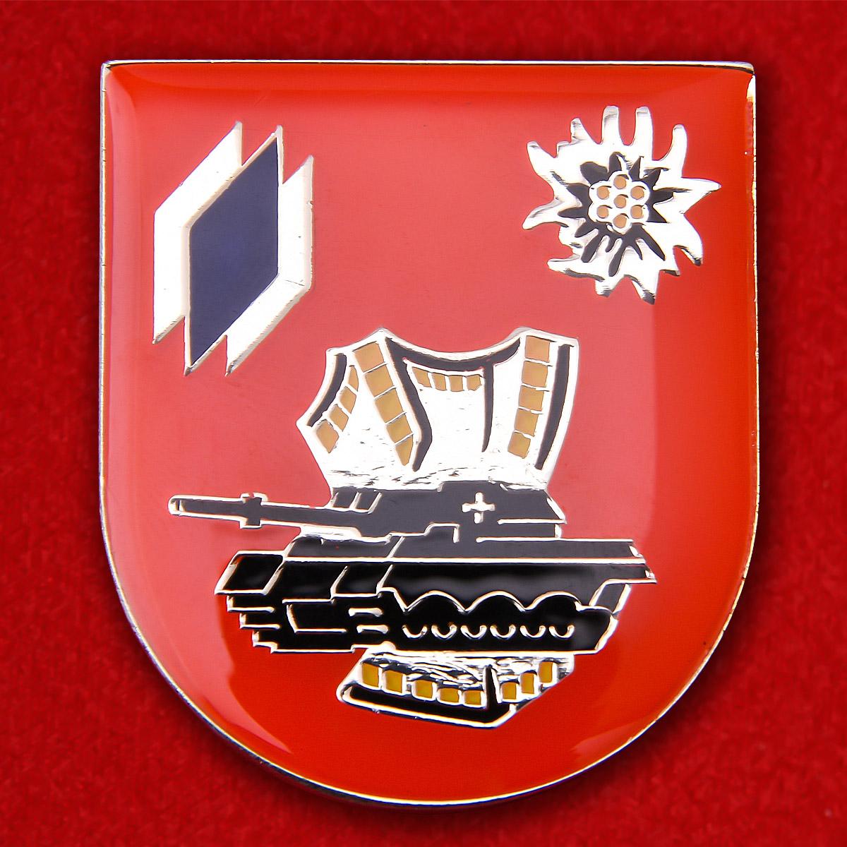 "Знак 8-го горного танкового батальона 12-й танковой бригады Бундесвера ""Оберпфальц"""