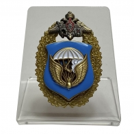 Знак 98-я гвардейская воздушно-десантная дивизия ВДВ на подставке