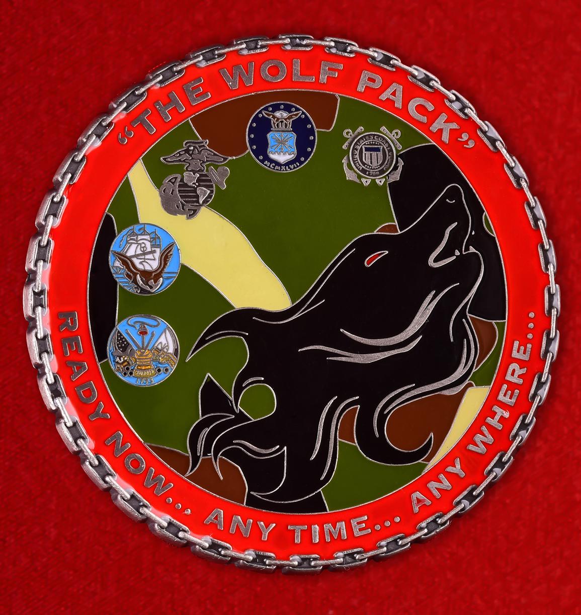 "Знак авиации США ""5-й Батальон грузовых операций авиакомпании г. Бойсе, Айдахо"""