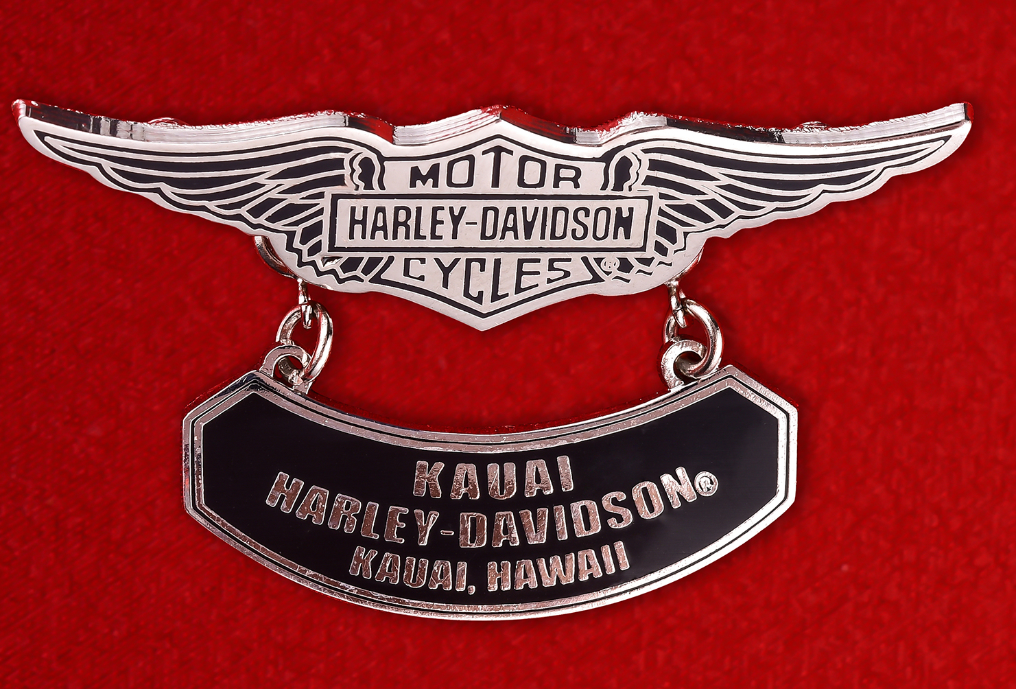 """Знак байкеров США """"Харлей-Дэвидсон, Кауаи, Гавайи"""""""