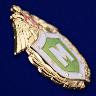 Знак ФПС «Классный специалист» Мастер - под углом