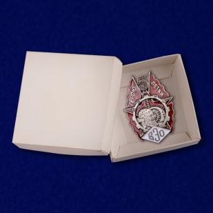 Знак Герою пятилетки (ВЭО) на подставке - в коробочке