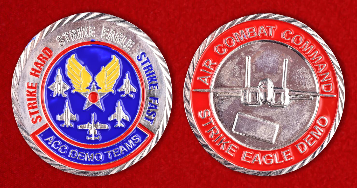 Знак групп показательных выступлений Боевого авиационного командования ВВС США
