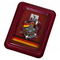 Знак ГСВГ Магдебург в футляре