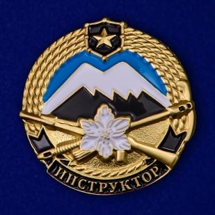 Нагрудный знак Инструктор горной подготовки