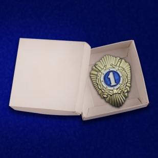 Знак Классного специалиста МВД (1 класс) на подставке