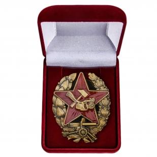Знак Красного командира РККА купить в Военпро