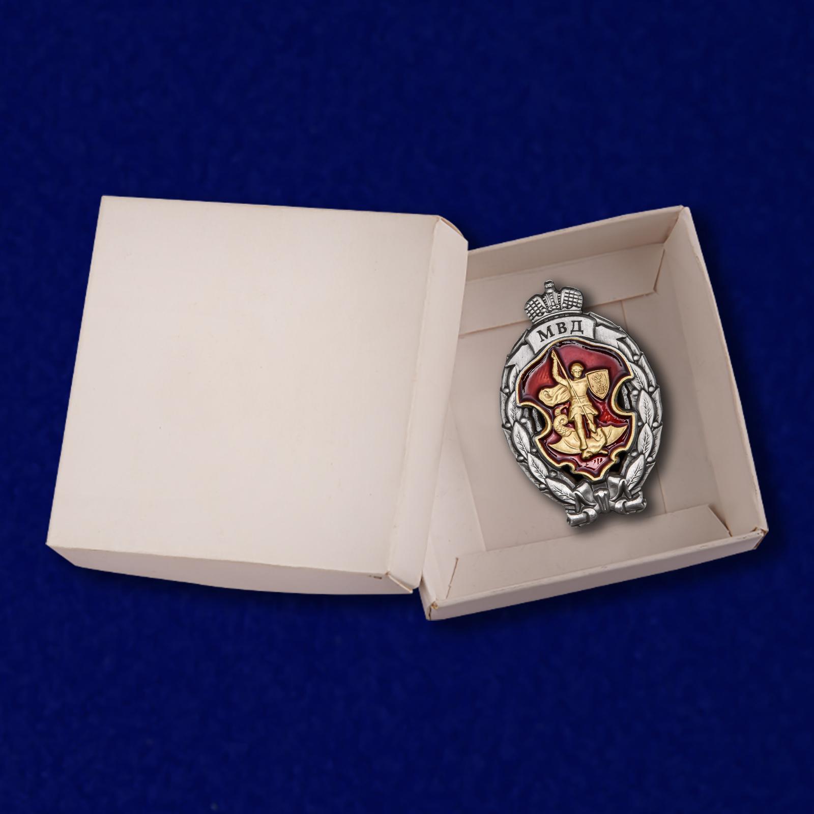 Нагрудный знак Лучший сотрудник специальных подразделений полиции - в коробке