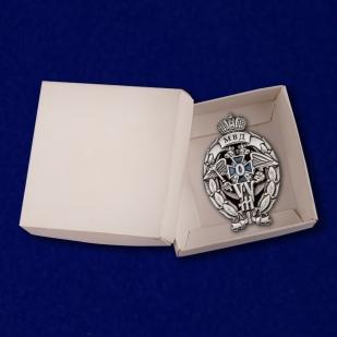 Нагрудный знак Лучший участковый уполномоченный полиции - в коробке