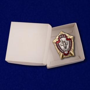 Знак Отличник милиции - в коробке