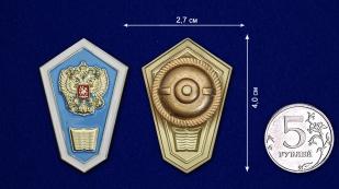 Знак Об окончании педагогического ССУЗа РФ - размер