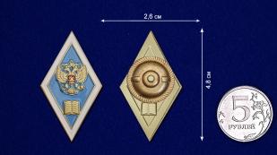 Знак Об окончании педагогического ВУЗа РФ - размер