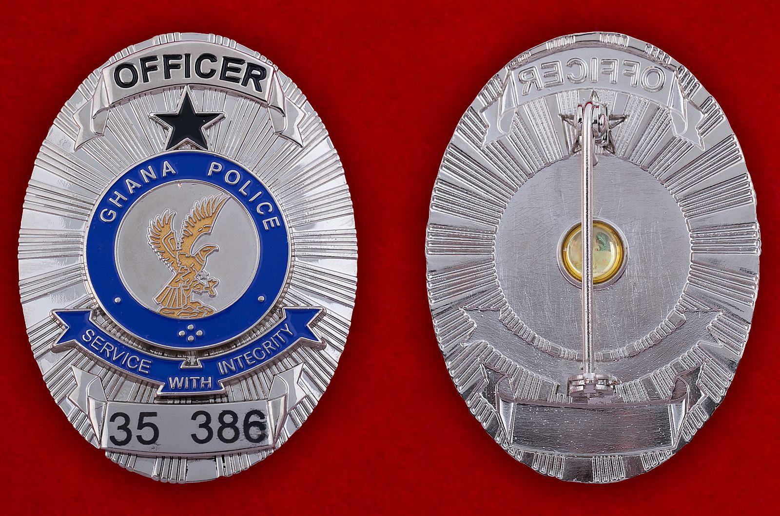 """Знак """"Офицер полиции Ганы"""" (35 386)"""